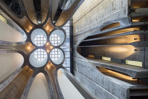Heatherwick's Zeitz MOCAA - atrium vault